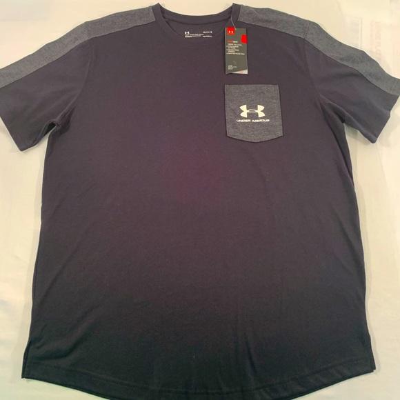 Under Armour Mens Sport style Pocket T-Shirt L